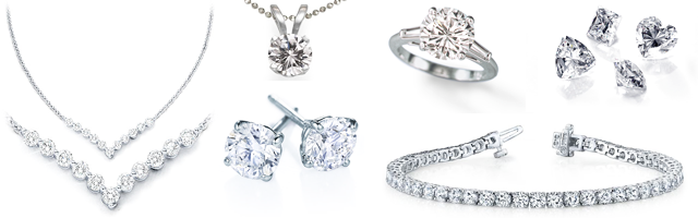 c58237cdd8d121 We accept a variety of jewelry with diamonds, as well as loose diamonds.