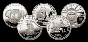 Platinum Bullion Coins Images