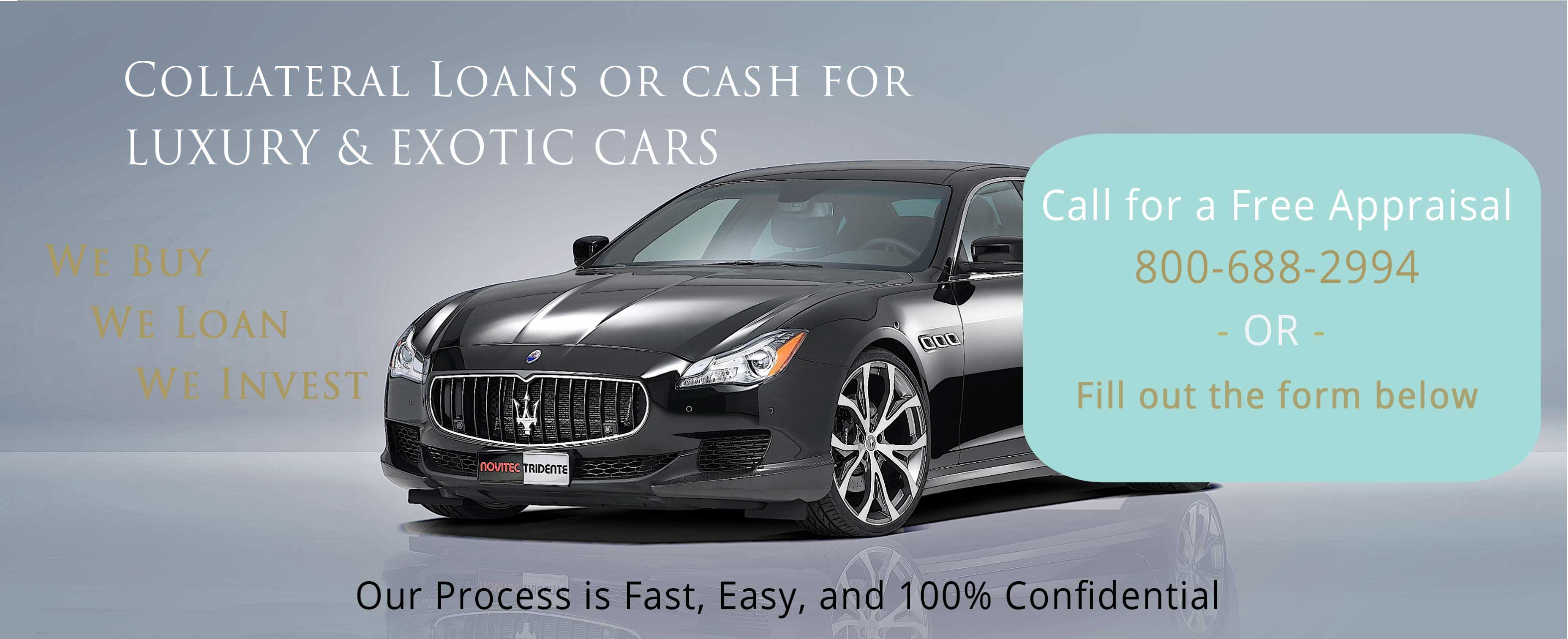 how to get a loan with my car as collateral